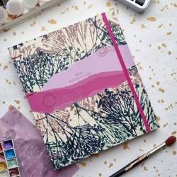 Carnet artisanal Mes aquarelles papier Fabriano