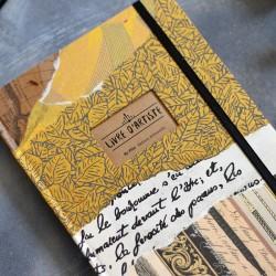 carnet artisanal livre artiste pour l'aquarelle
