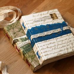 Carnet format A6: livre d'artiste papier recyclé