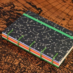 Carnet copte A6 constellation