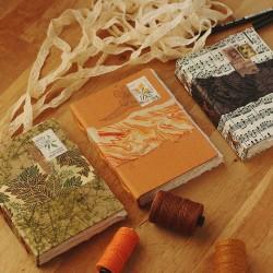 Carnet: Livre d'artiste A6 papier recyclé