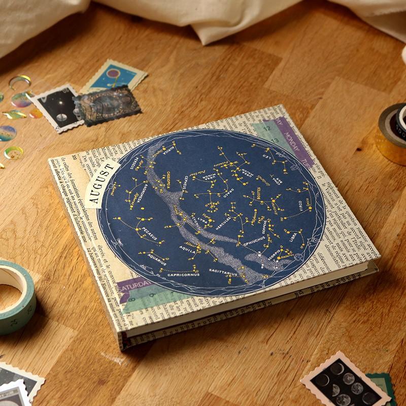 Carnet carré des étoiles