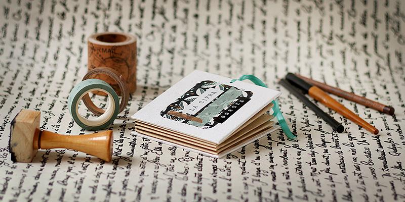 L'écriture nomade + Plié reliure