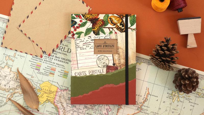 Un carnet, le cadeau artisanal idéal 01