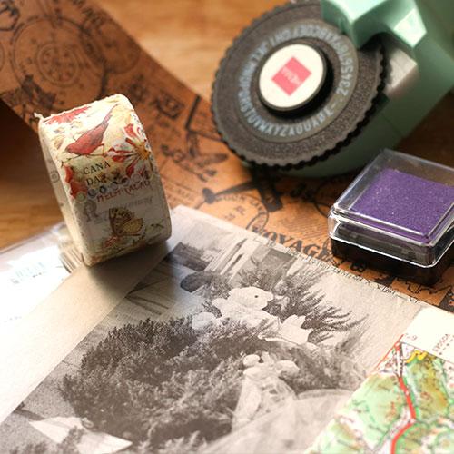 comment créer un carnet de voyage style scrapbooking 07