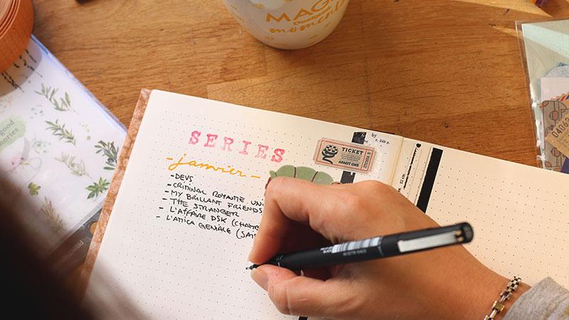 Comment débuter avec un bullet journal 10
