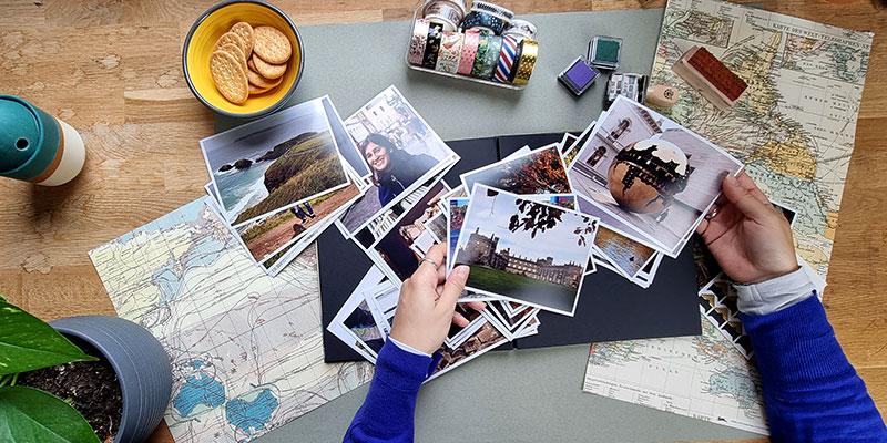 Petits secrets DIY pour décorer un album photo scrapbooking